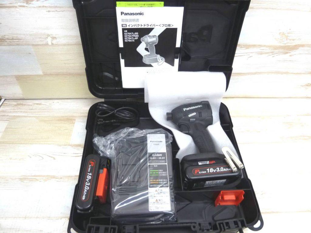Panasonic(パナソニック) インパクトドライバ EZ75A7 ブラック