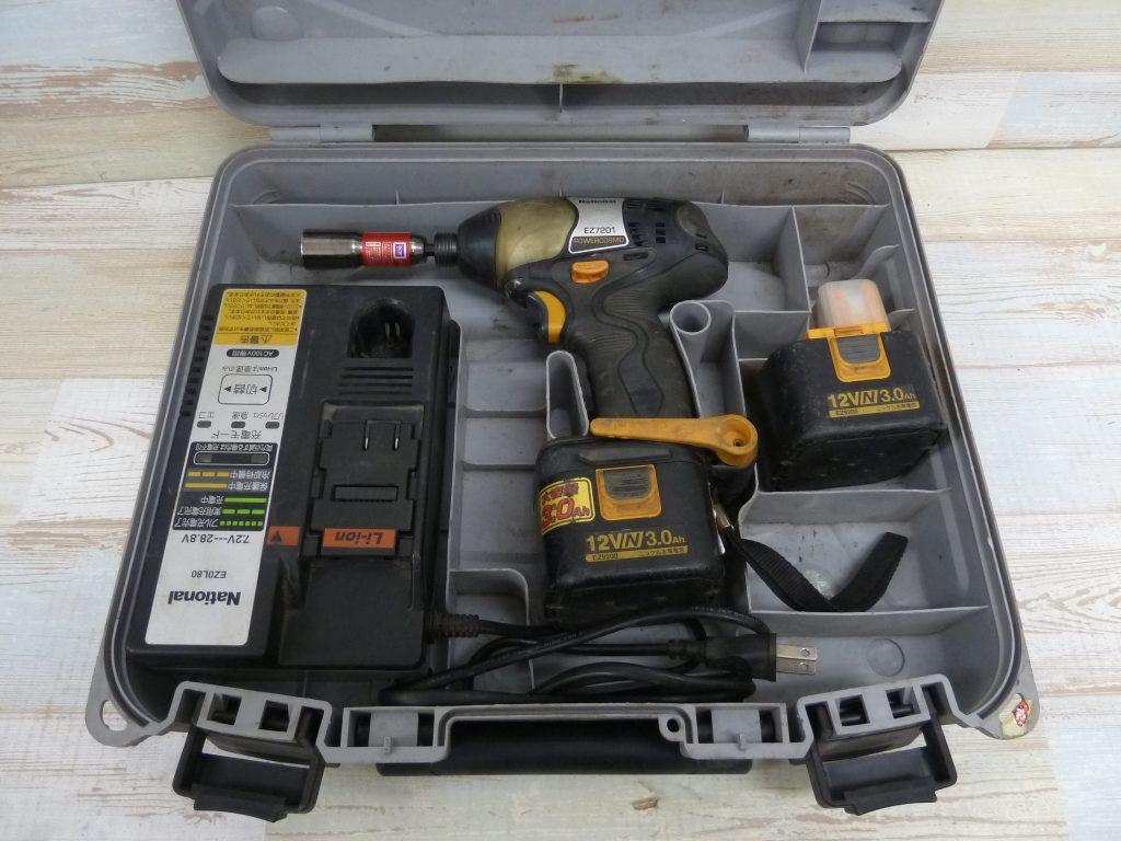 Panasonic 充電式インパクトドライバ EZ7201NKN-BT