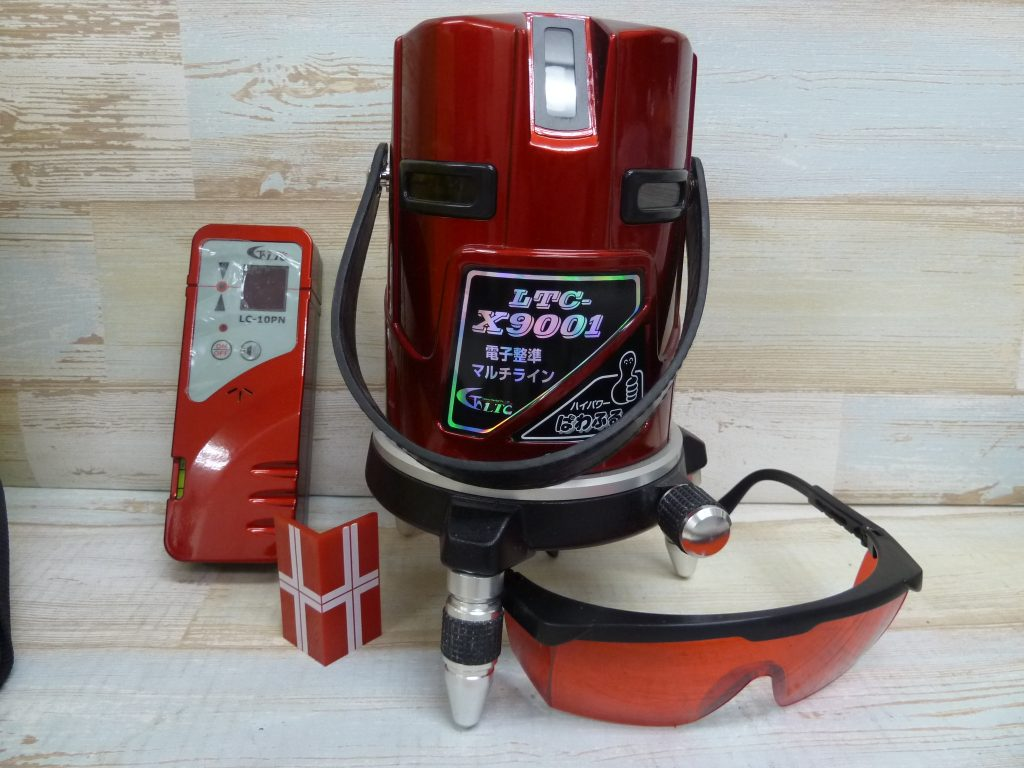 LTC-X9001 レーザー墨出し器