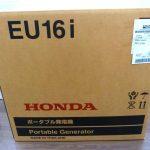 HONDA(ホンダ) 正弦波インバーター搭載 発電機 EU16i  の買取(新品)