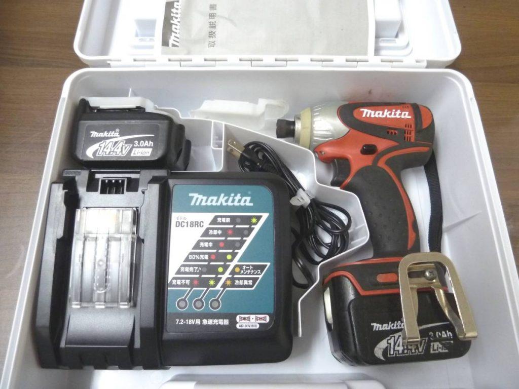マキタ 充電式インパクトドライバ TD131D 14.4V makita