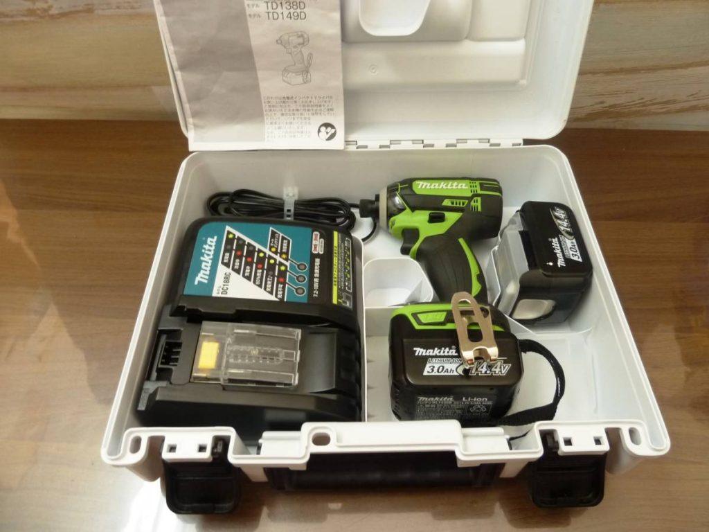 MAKITA(マキタ) 充電式インパクトドライバ TD138DRFX の買取