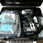 Makita(マキタ) 充電式インパクトドライバ TD160DRGX 6.0Ah(新品)の買取