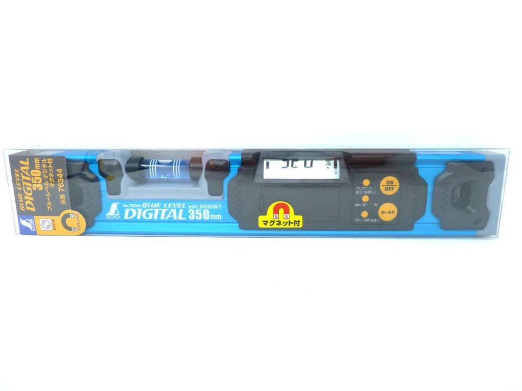 シンワ測定 ブルーレベル デジタル 水平器 350mm 76344