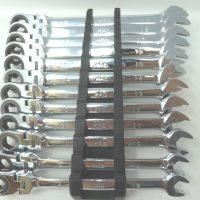 MAC TOOLS(マックツールズ) コンビラチェット スパナ 12本セット RWF68MM~RWF619MM
